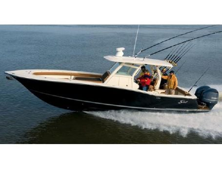 2010 Scout Boats 345 XSF