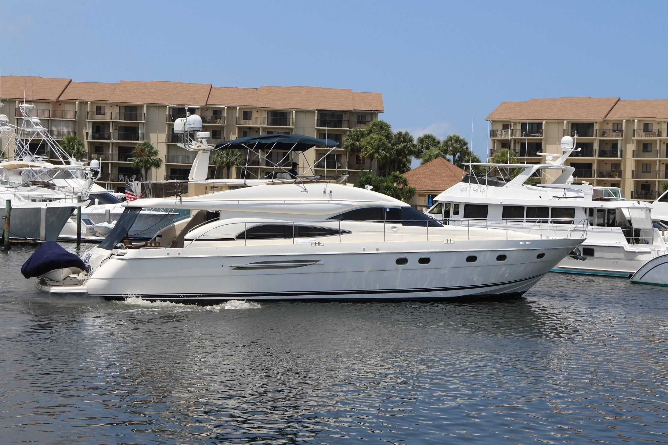 2002 Viking Princess 65 Motor Yacht Power Boat For Sale