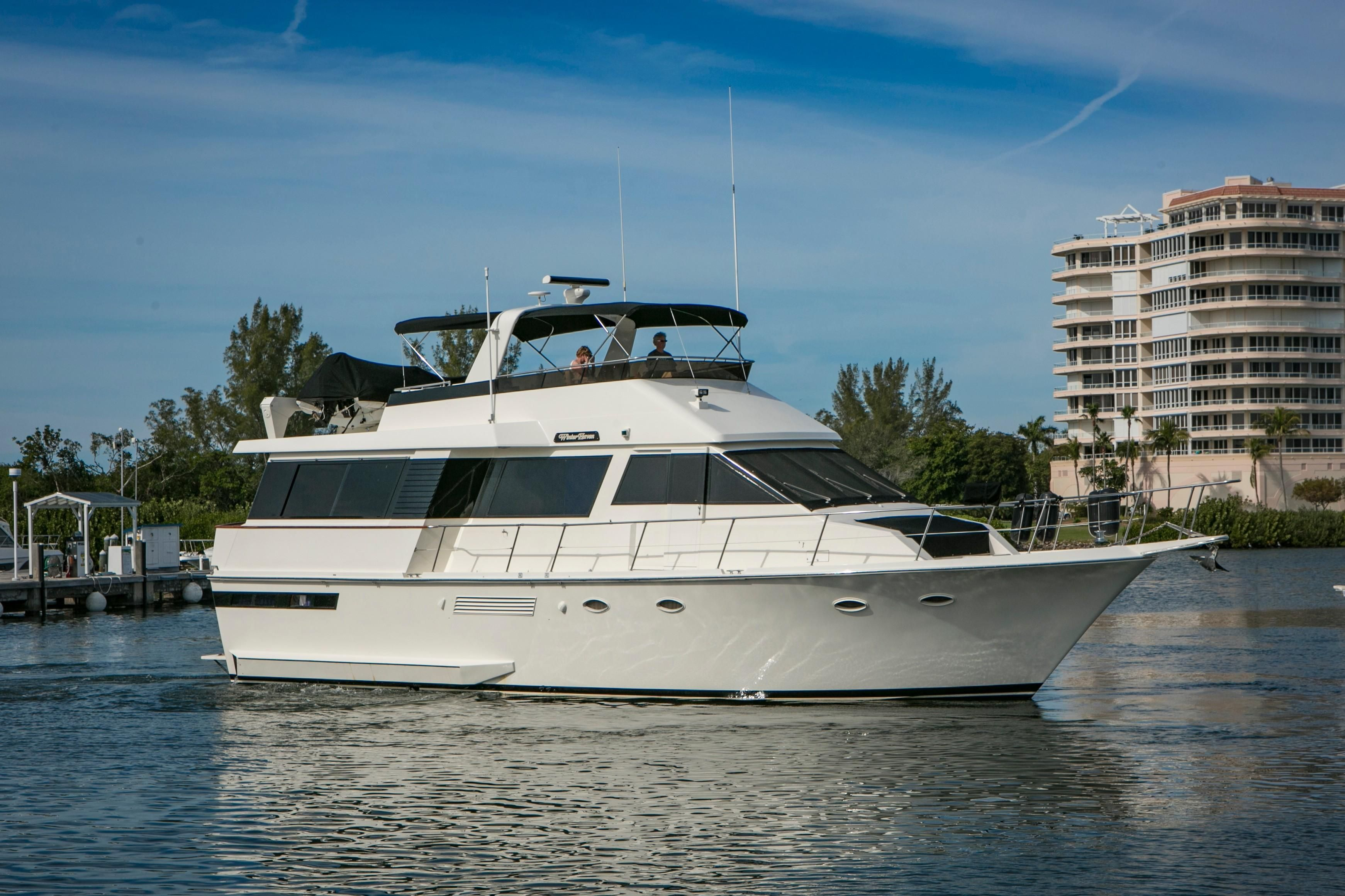 1989 viking 55 motor yacht power boat for sale www for 50 ft motor yachts for sale