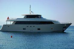 2012 Custom New 28 MT Steel Motor Yacht