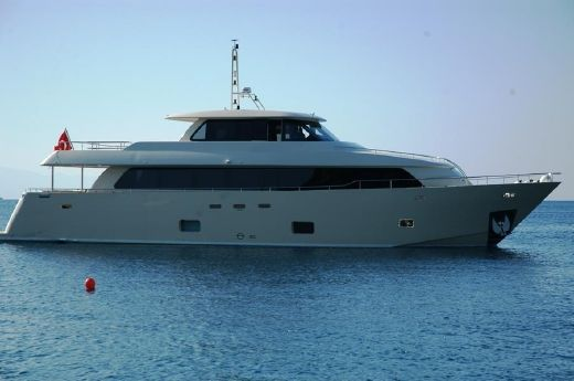 2012 Custom New 28 MT Steel Motor Yacht
