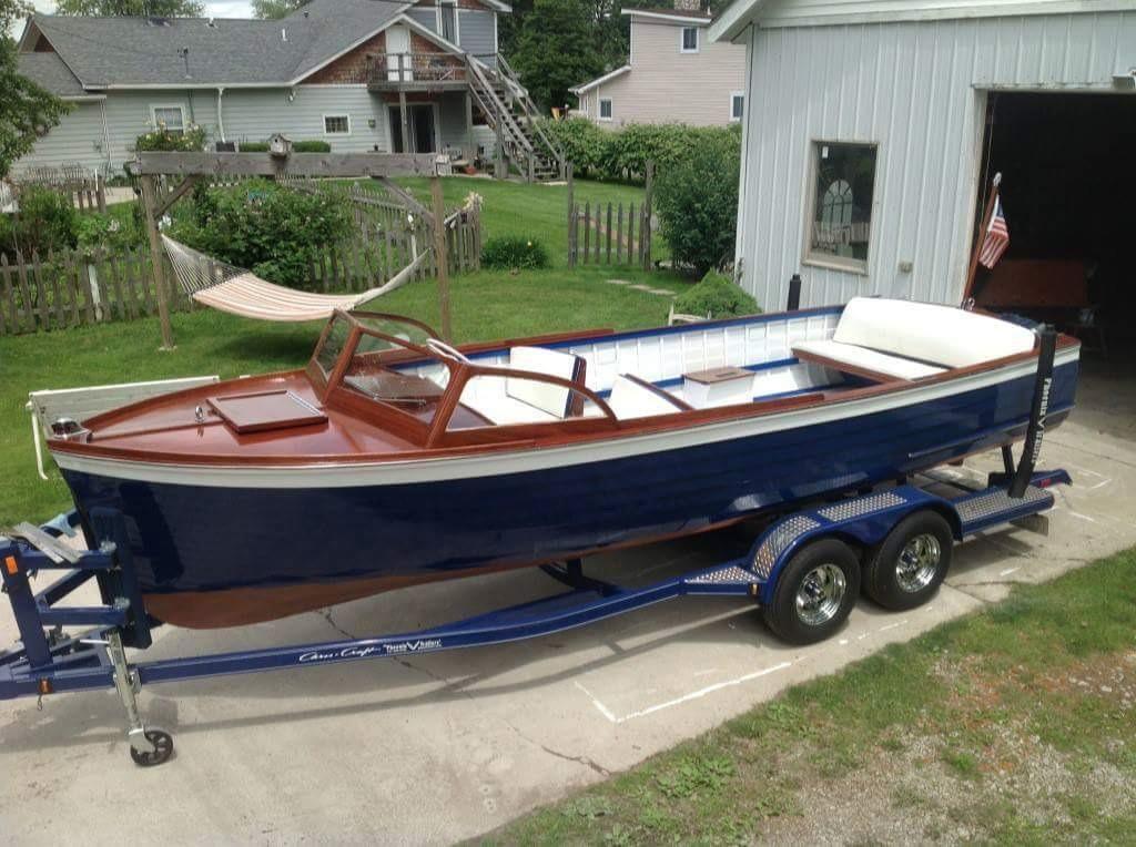 1958 chris craft 22 sea skiff power boat for sale www for Skiff craft boats for sale