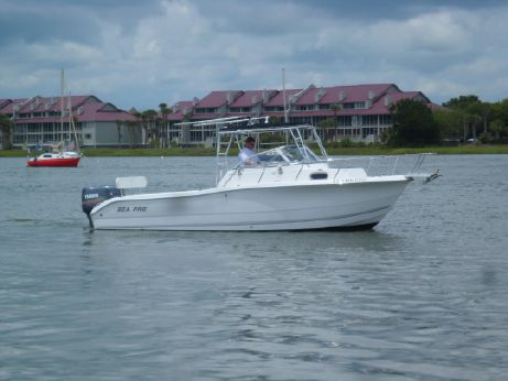 2003 Sea Pro 255 Walk Around