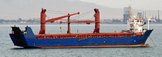 1982 Custom RoRo Container Vessel