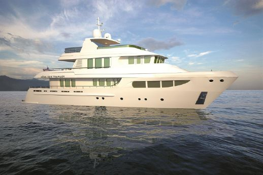 2013 Miss Tor Yacht Trawler 130