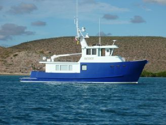2003 Metal Craft Marine Expedition Steel Trawler