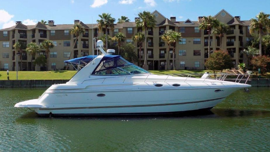1998 Cruisers Yachts 3870 Express Power Boat For Sale Www