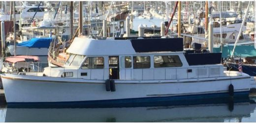 1973 Howard Custom Wood Trawler