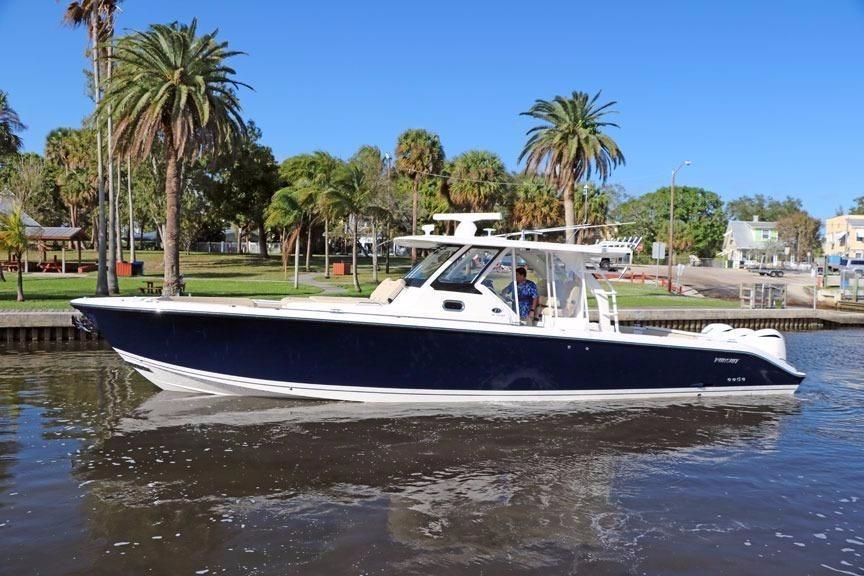 2017 Pursuit S 408 Sport Power Boat For Sale Www