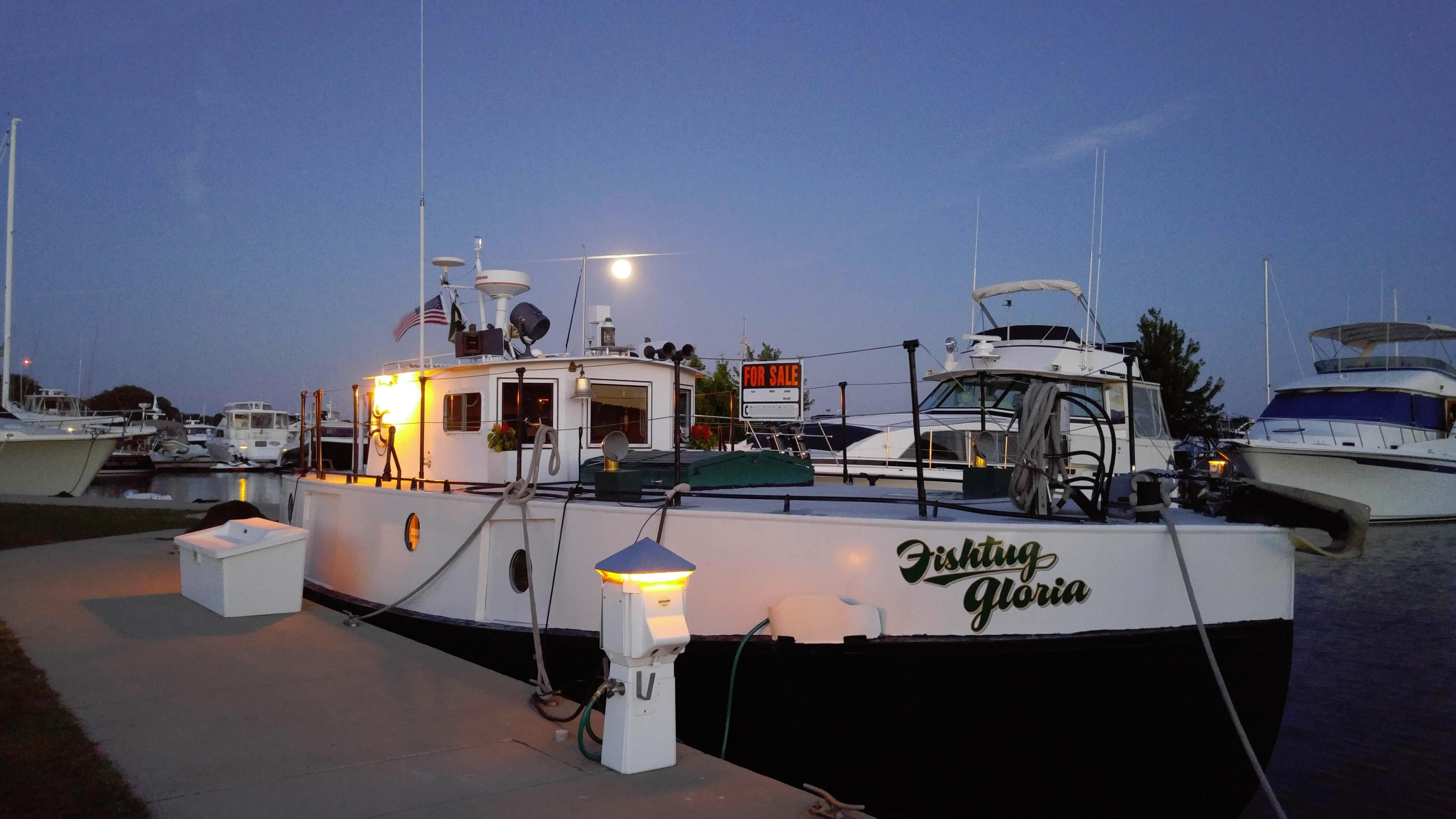 How To Calculate Miles Per Gallon >> 1945 Burger Fish Tug Power Boat For Sale - www.yachtworld.com