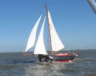 1996 Sailboat De Scheepsbouwers Staverse Jol 8m