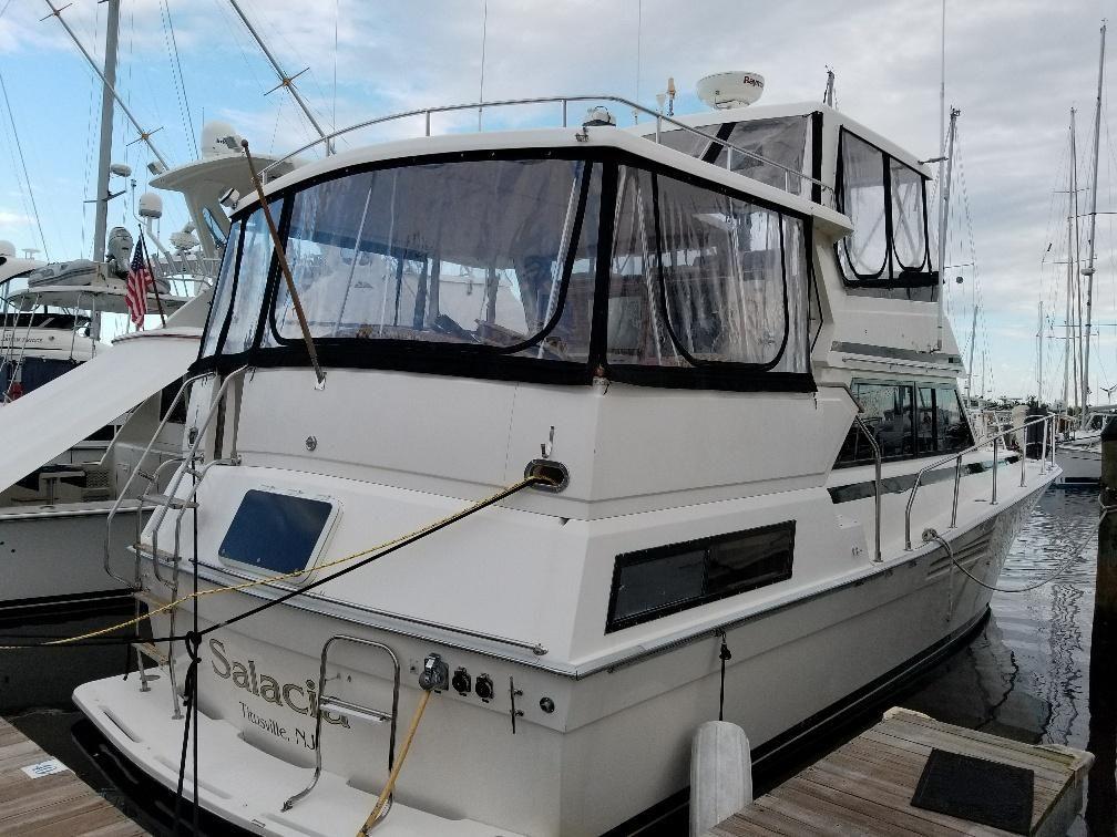 1990 viking 44 motor yacht power boat for sale www for Viking 43 double cabin motor yacht