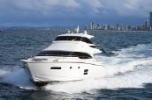 photo of 70' Johnson 70 Motor Yacht Sky-Lounge