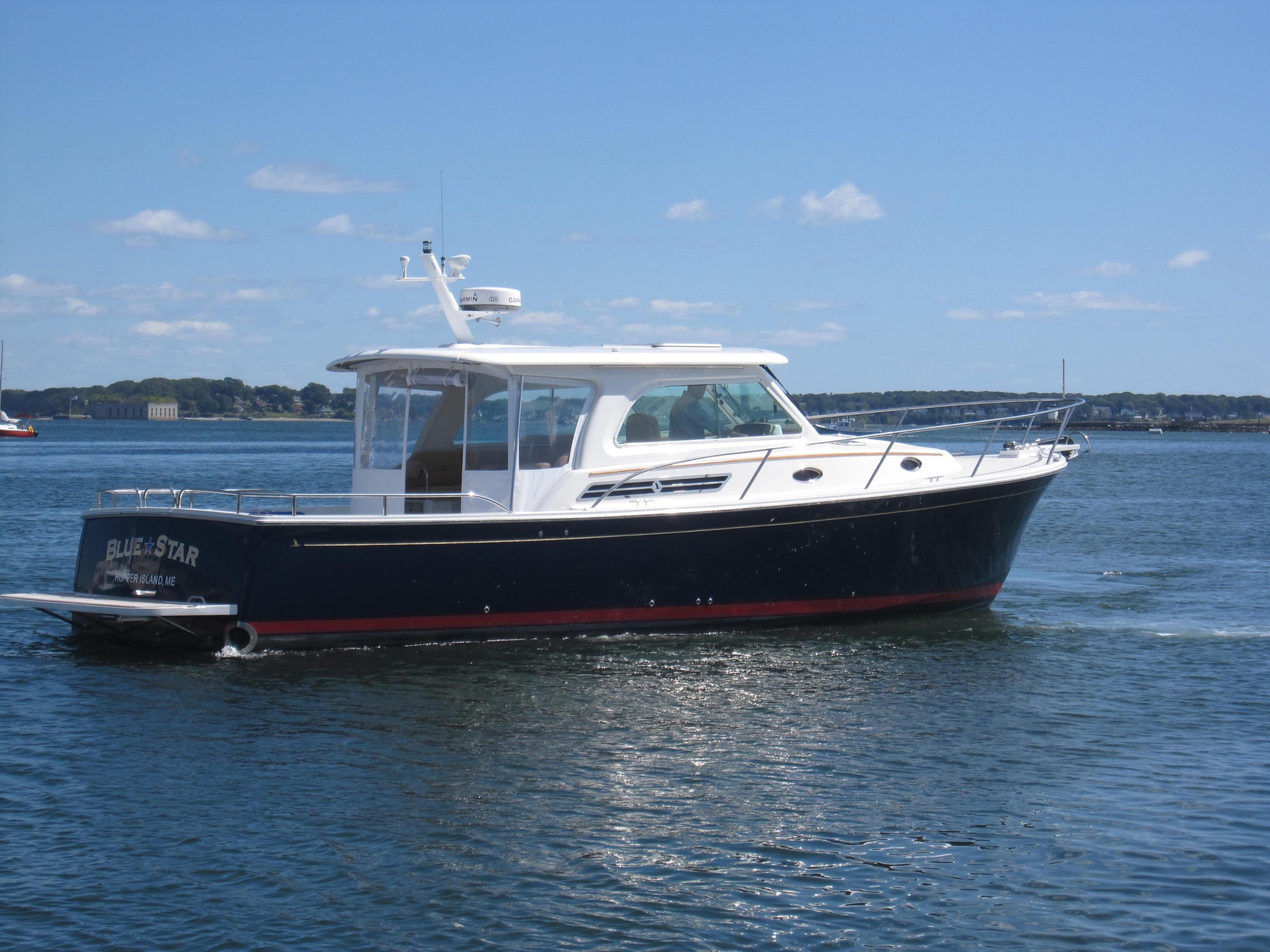 2014 back cove 37 downeast power boat for sale www for 50 ft motor yachts for sale