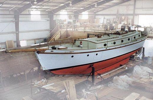 1956 Herreshoff Marco Polo 56 Schooner