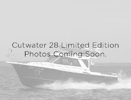 2016 Cutwater 28 Limited Edition