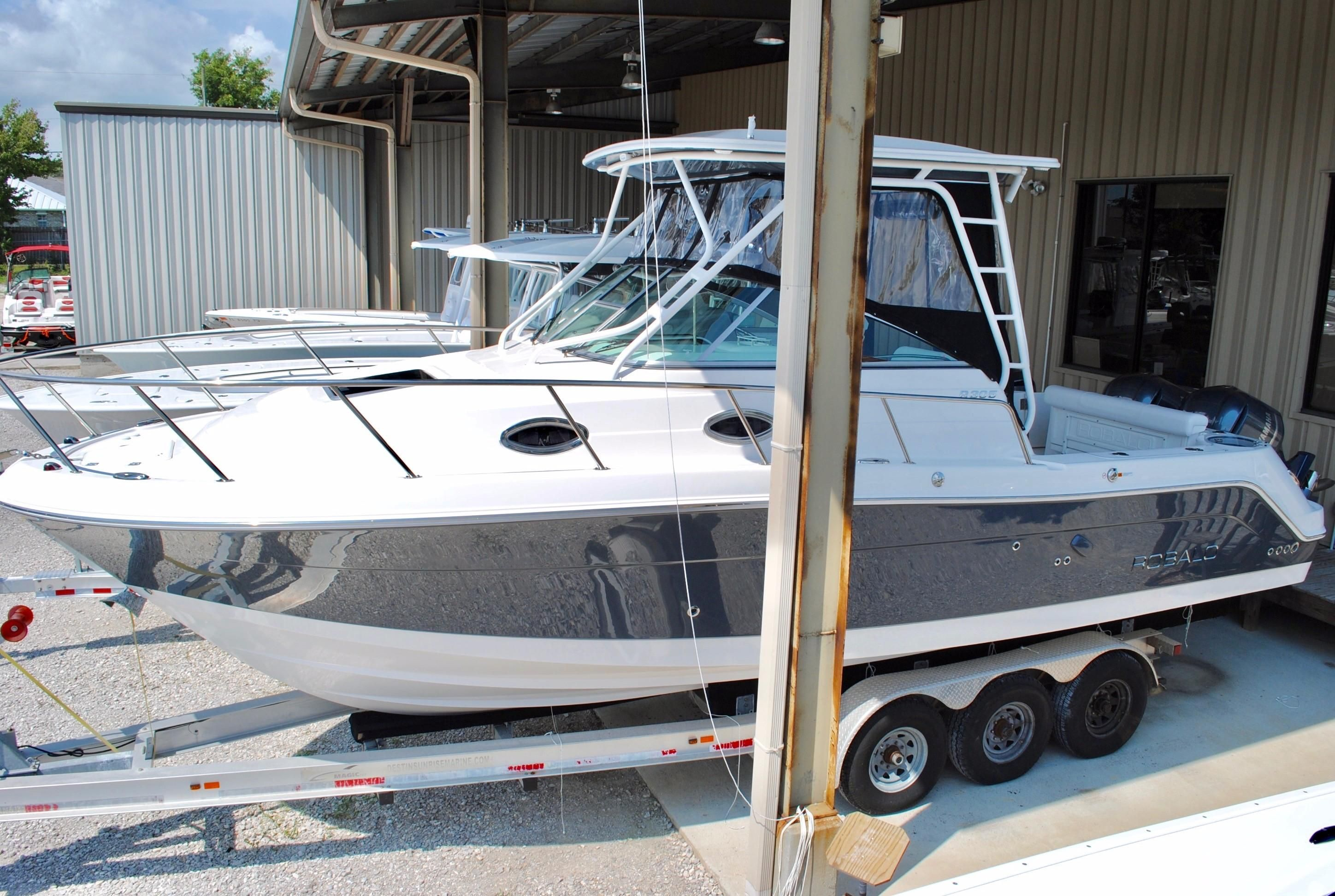 2018 robalo 305 walkaround cruiser power boat for sale for Robalo fish in english