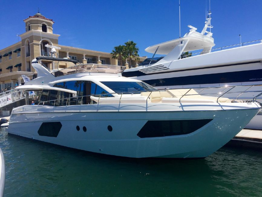 Absolute 60 Fly Yacht for sale in Newport Beach
