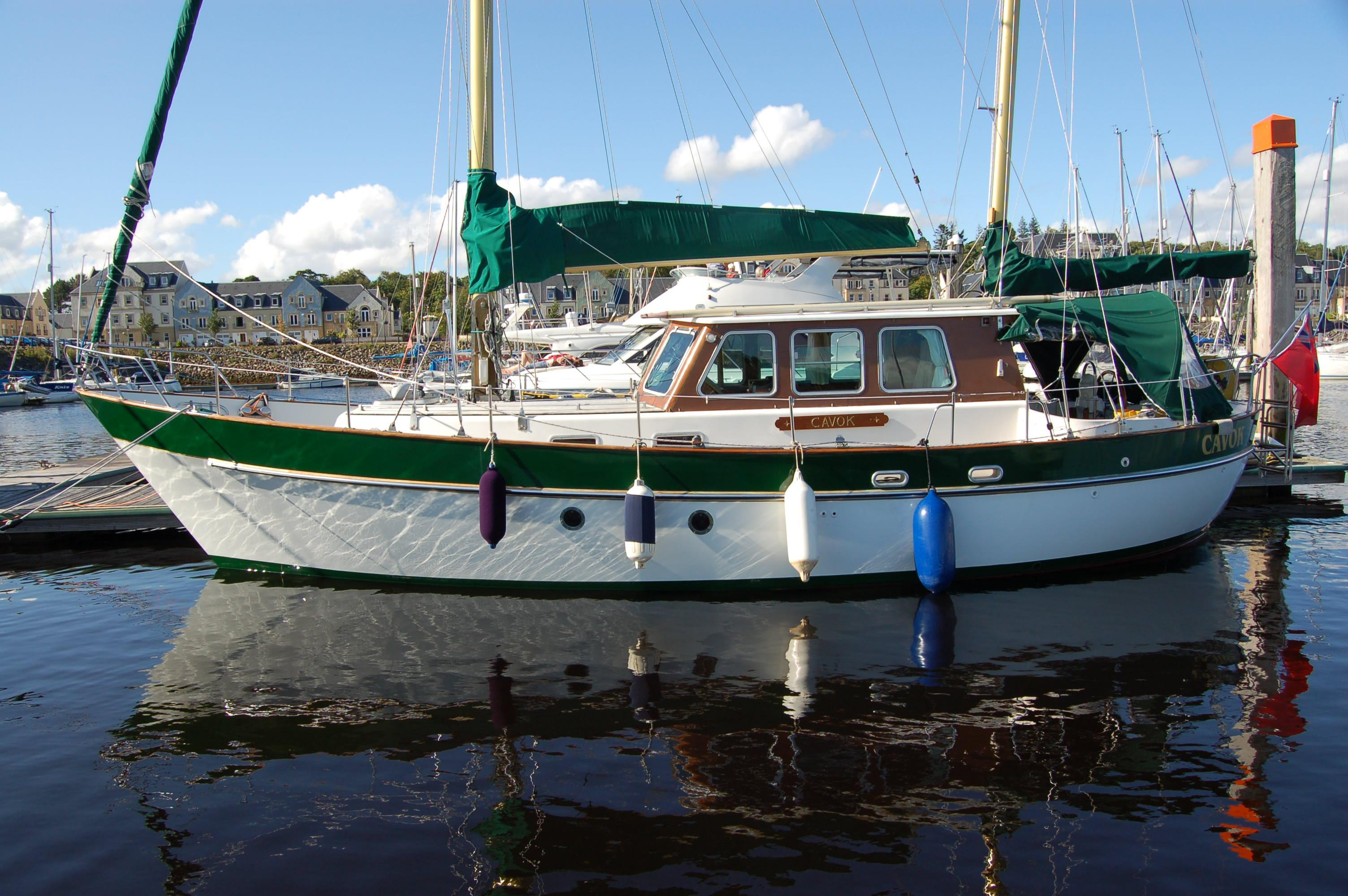 Renfrewshire United Kingdom  city photos : Dart 38 Motor Sailer Ketch, Kip Marina, Renfrewshire, United Kingdom
