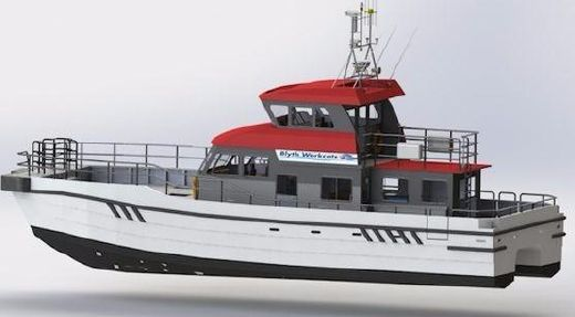 2014 New Build - 17m Blyth Windfarm Service Vessel