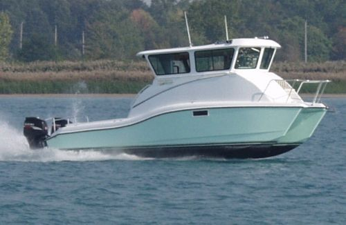 2009 ocean express 34 pilothouse power boat for sale www for Pilot house fishing boats