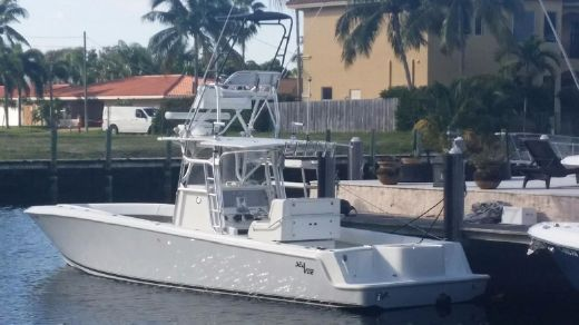 2011 Sea Vee 34 Center Console BOW THRUSTER DIESEL LOW HOURS