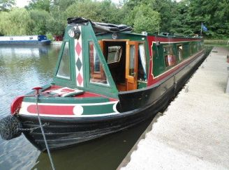 1999 Narrow Boat Colecraft with Semi Traditional Stern