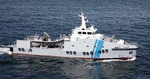 2016 Custom Patrol Ships