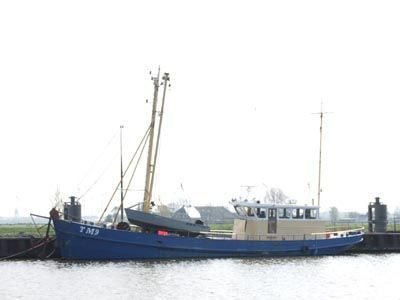 1956 Cutter, Suitable For Conversion into living ship/cutter yacht