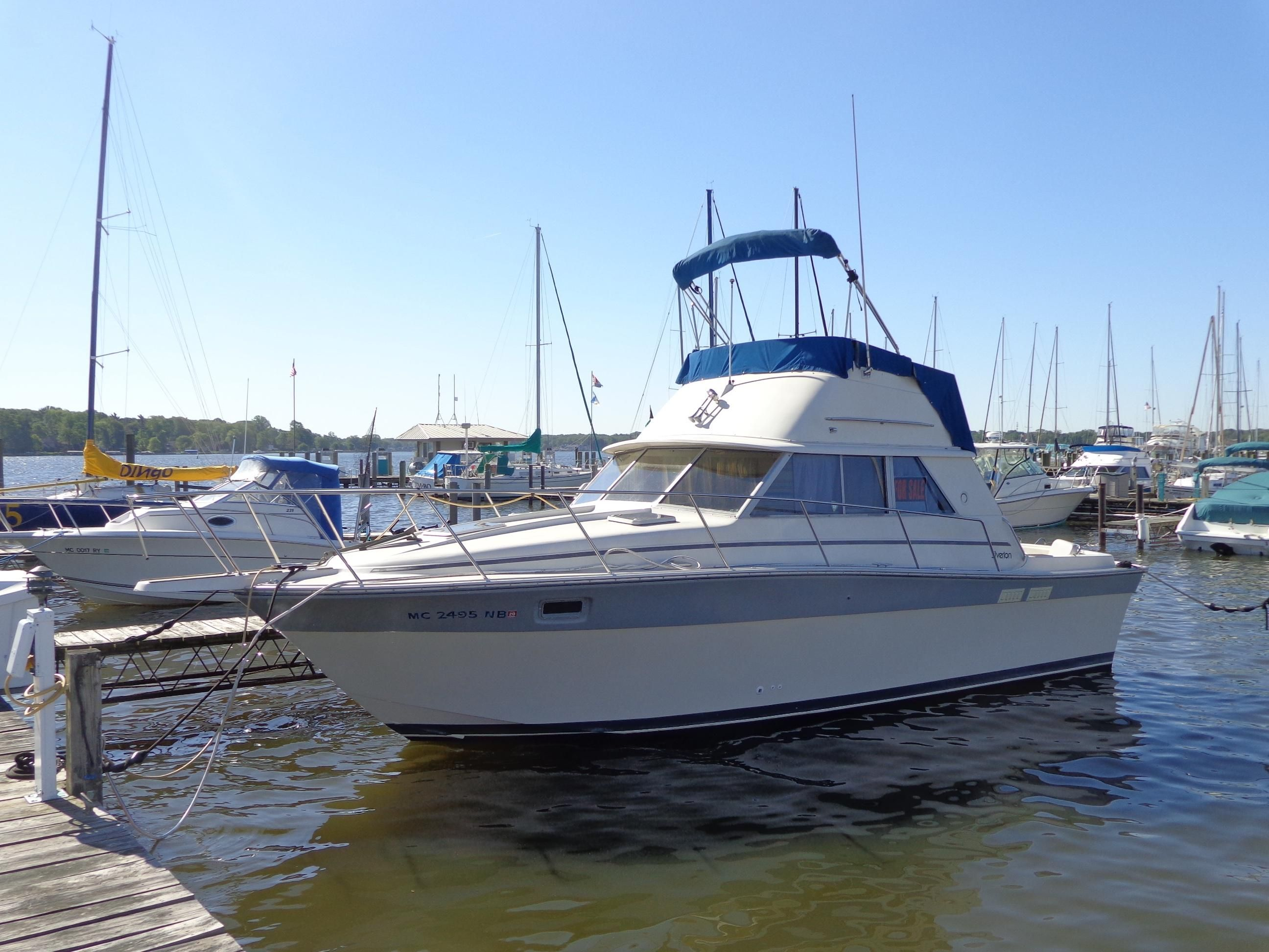 1986 silverton 31 convertible power new and used boats for for The motor company marinette