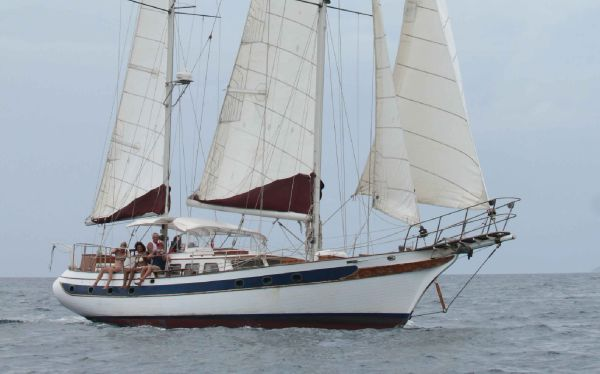 1979 ta chiao ct 54 custom sail boat for sale