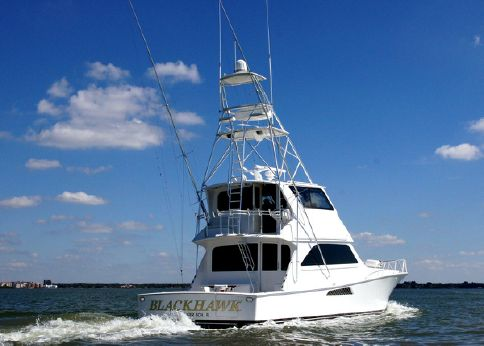 2002 Viking 61 Enclosed Bridge Convertible