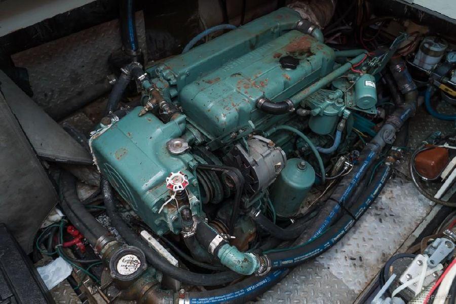 Mason 63 Ketch Diesel Engine