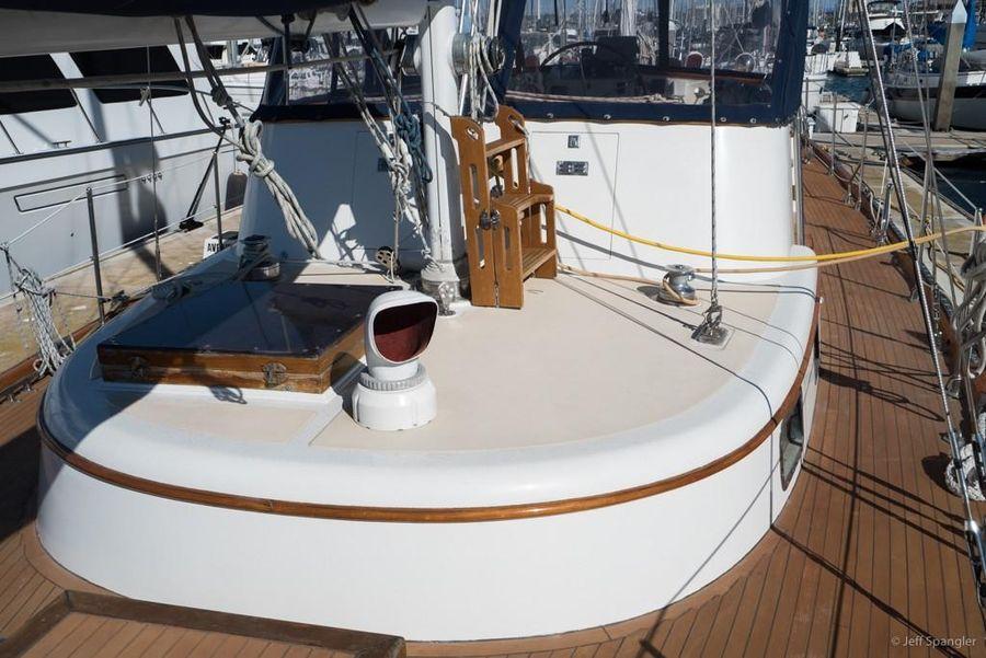 Mason 63 Sailboat Deck