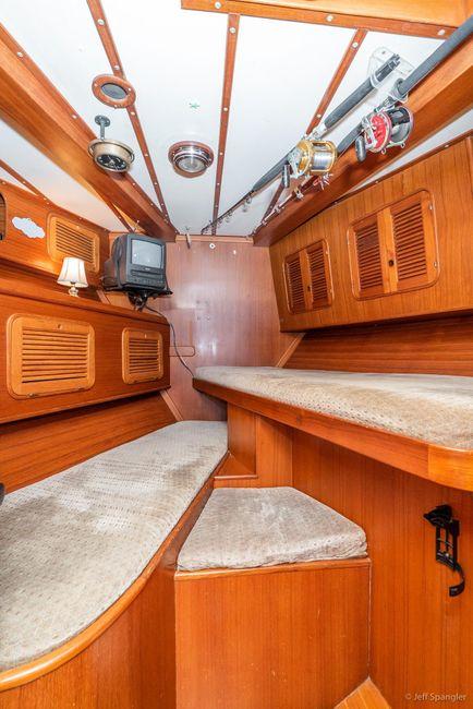 Mason 63 Ketch Forward Cabin