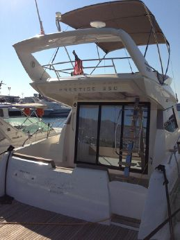 2012 Prestige 350 Fly bridge