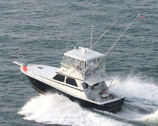 1986 Viking Yachts 41 Convertible