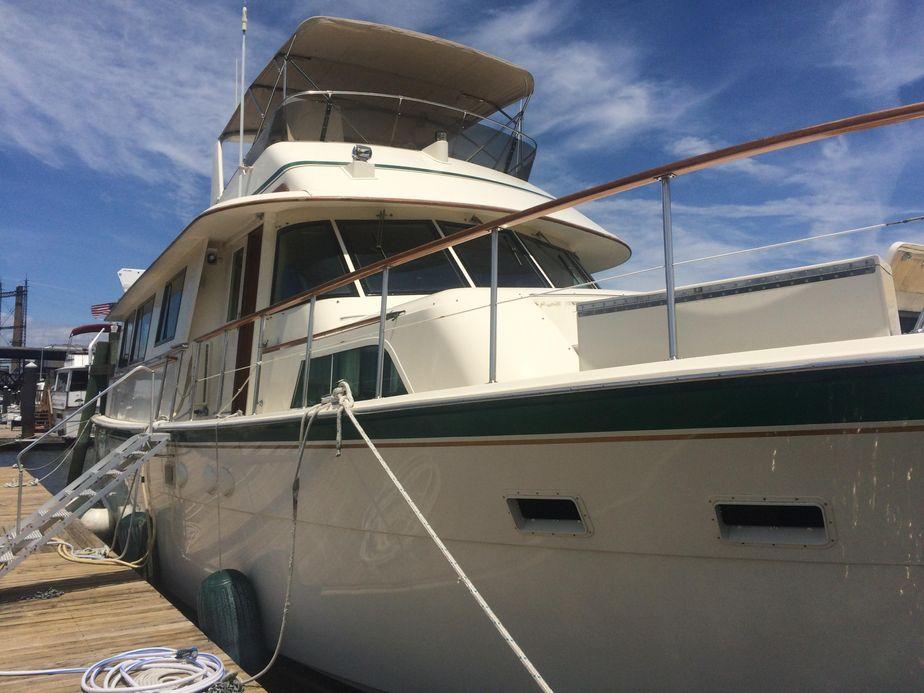 1985Hatteras 61 Motor Yacht