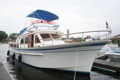 1981 Albin 43 Trawler