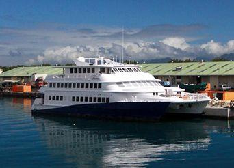 1986 Custom Catamaran Cruise Ship