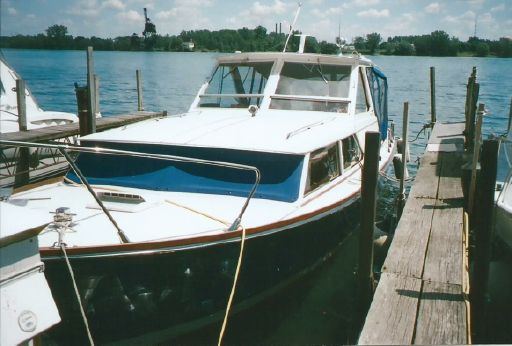 1965 Chris Craft 35 Sea Hawk Sea Skiff