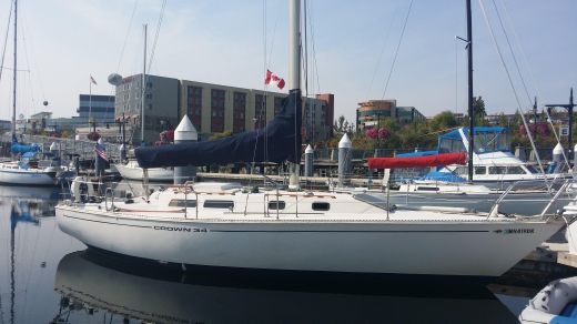 1978 Crown 34 Sloop/Racing/Cruiser