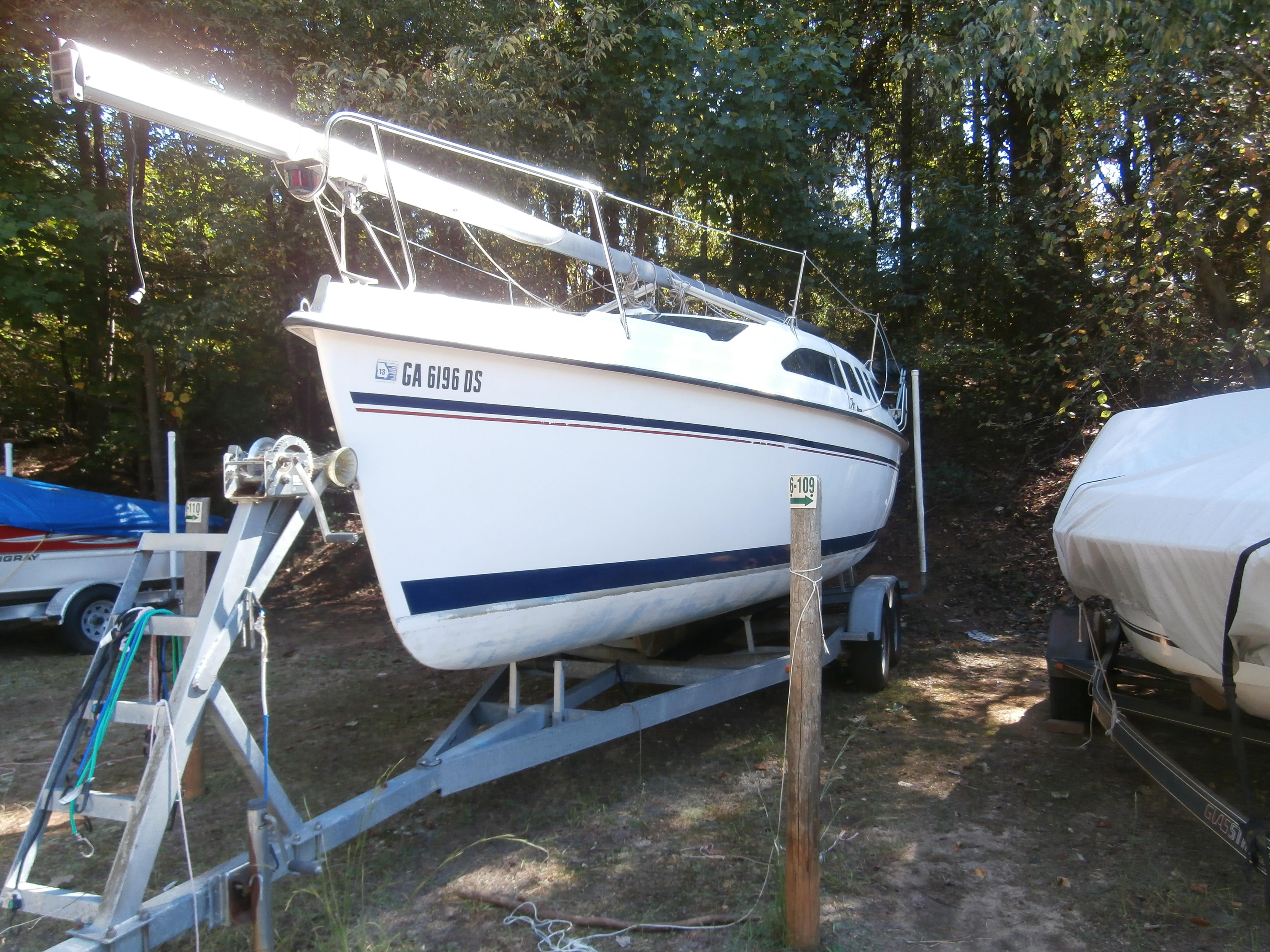 1996 Hunter 26 Sail Boat For Sale Www Yachtworld Com