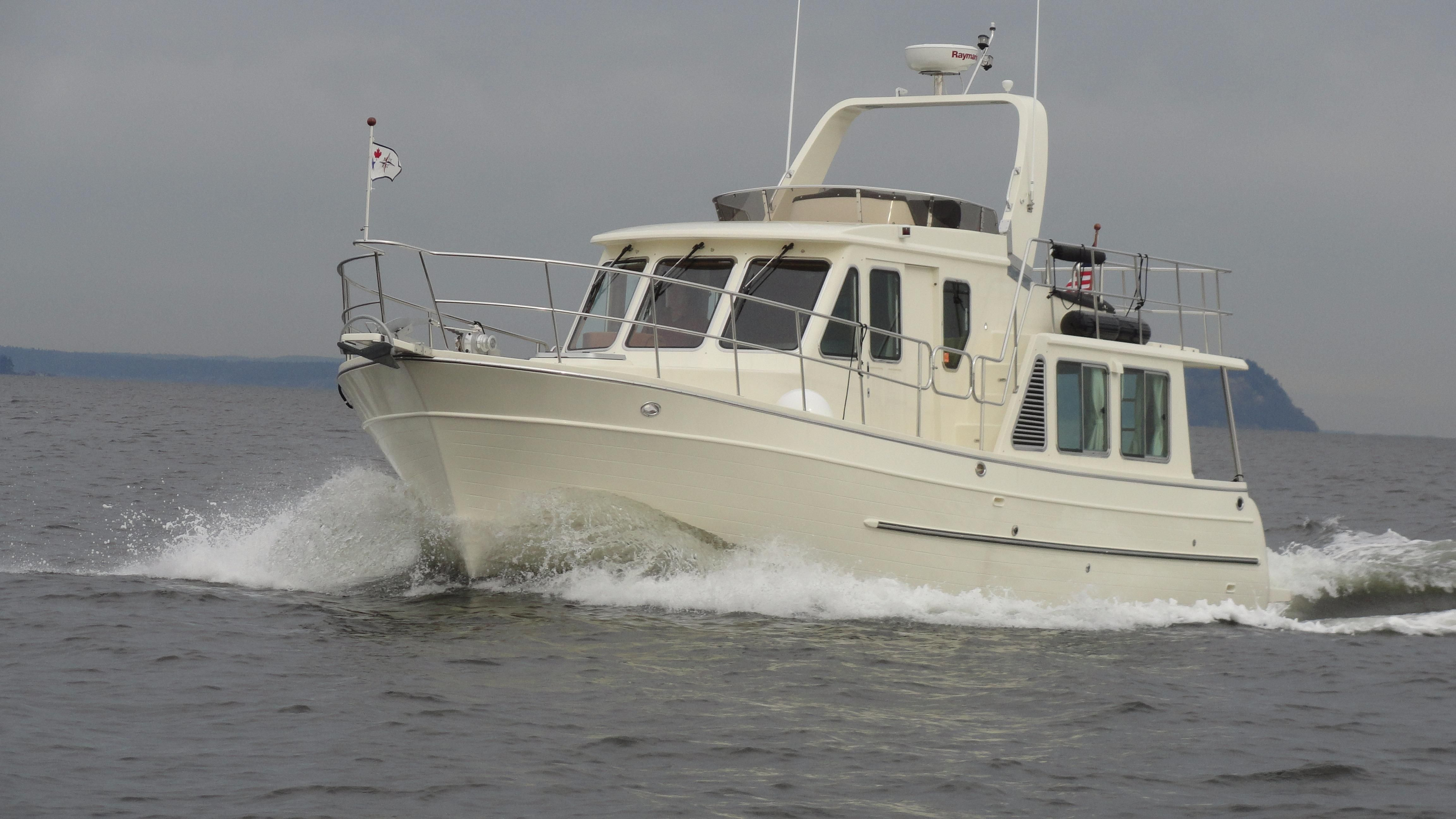 How To Calculate Miles Per Gallon >> 2014 North Pacific 39 Pilothouse Power Boat For Sale - www ...