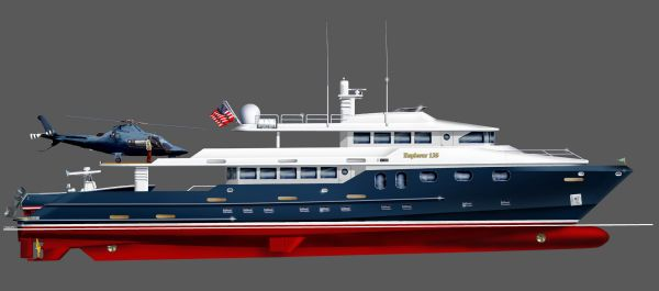 2020 Bray Yacht Design Long Range Explorer Motoryacht Power