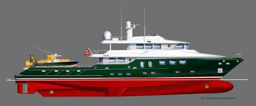 2016 Bray Yacht Design Long Range Explorer Motoryacht