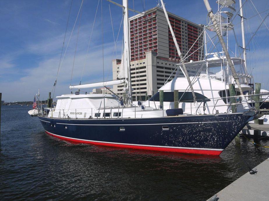 1996Schiomachen Sailing Cutter Motorsailer