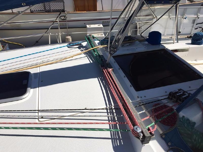 Catalina 42 MKii sailboat for sale in Oceanside Harbor