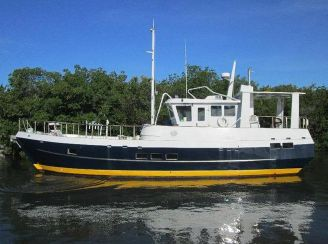 thumbnail photo 1: 2008 Bruce Roberts Spray 52 Trawler