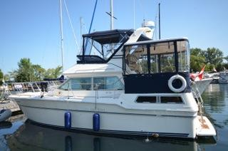 36 ft 1985 sea ray 360 aft cabin cruiser